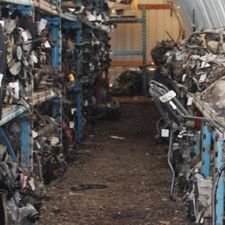 used automobile parts warehouse